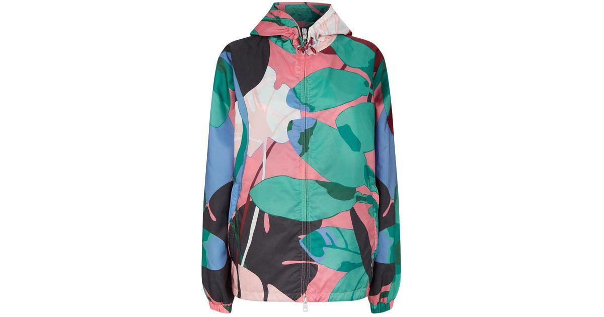 ef18040b6 Moncler - Multicolor Alexandrite Printed Jacket - Lyst