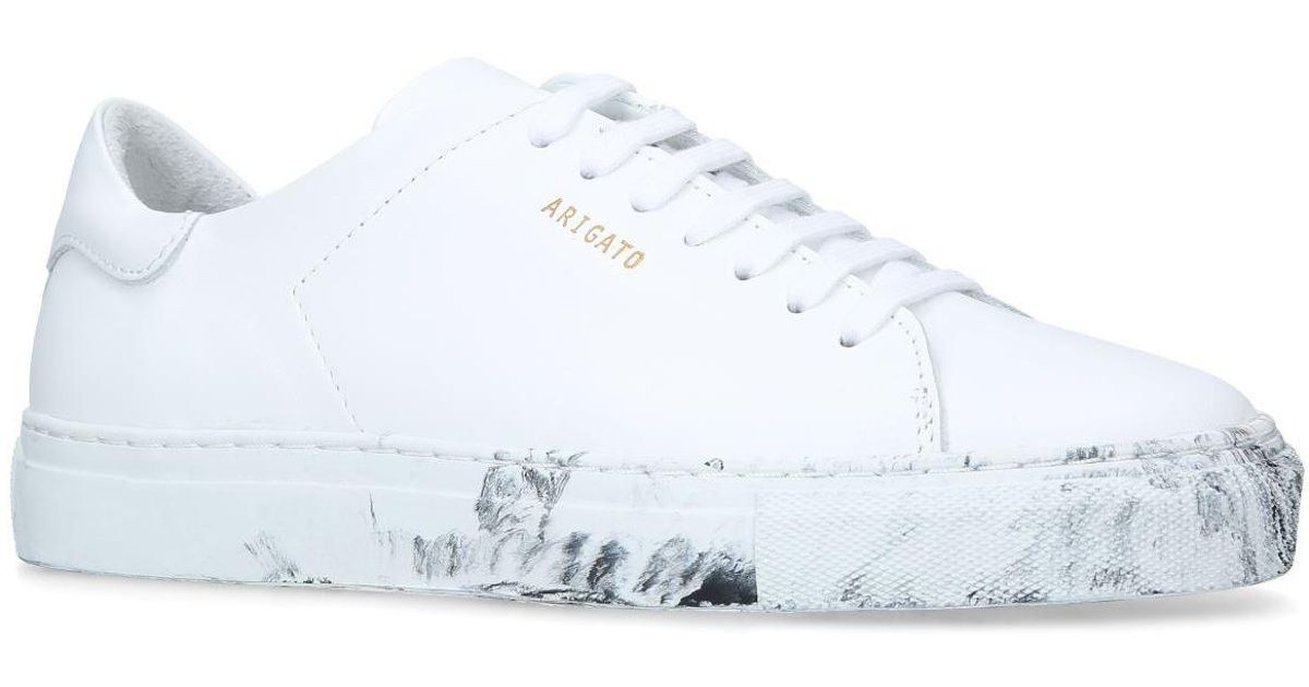 Axel Arigato Leather Clean 90 Sneakers In White Lyst