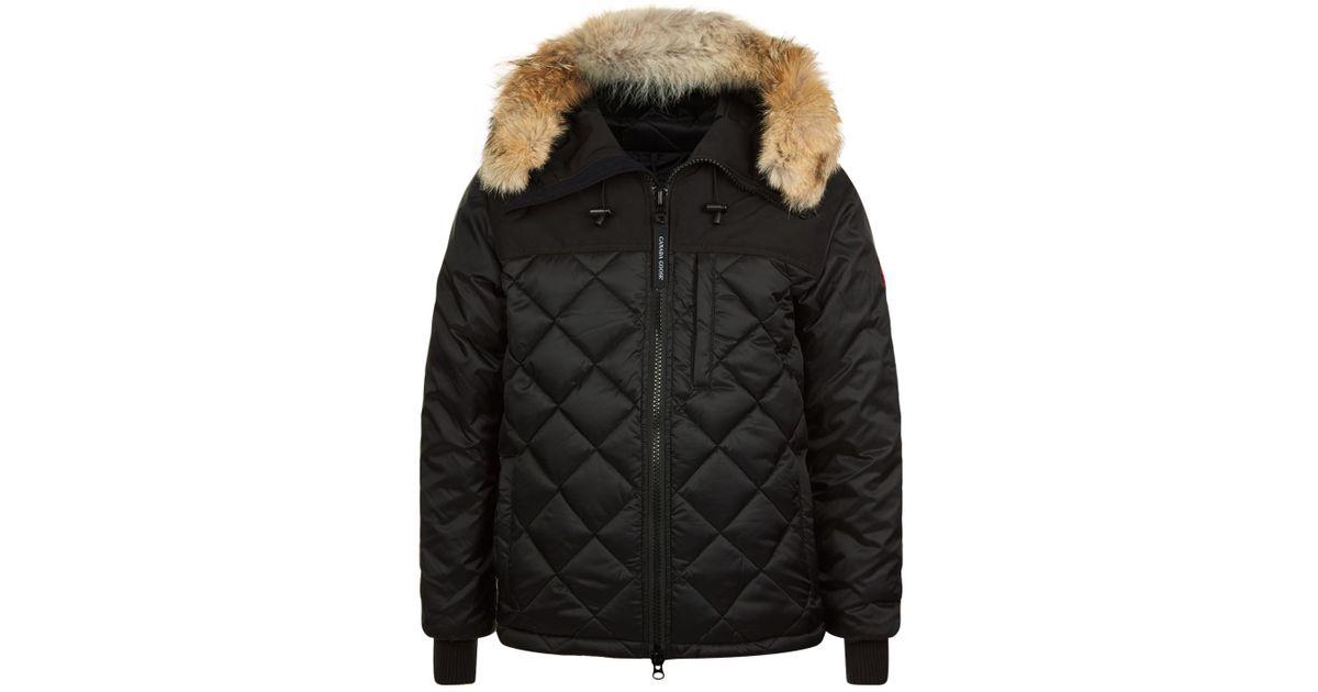 67c664745d9b ... chateau parka seiko build mens coat 3426mb 9d905 greece canada goose  pritchard coat in black for men lyst 21043 8c70f ...