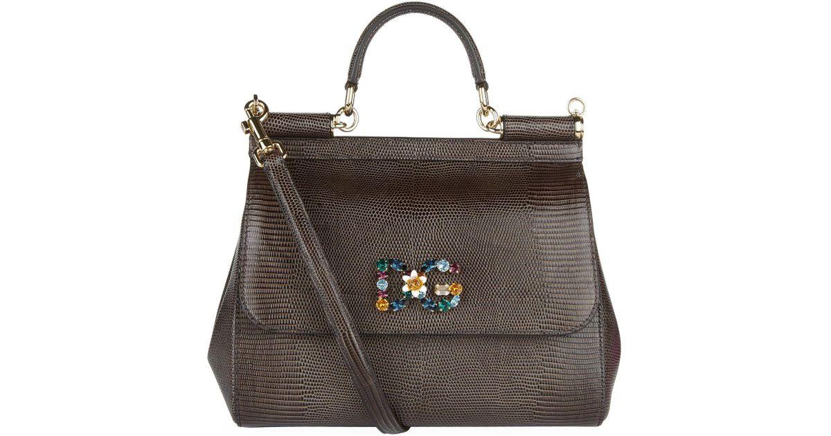a2fca26da9 Dolce   Gabbana Medium Sicily Bag - Lyst