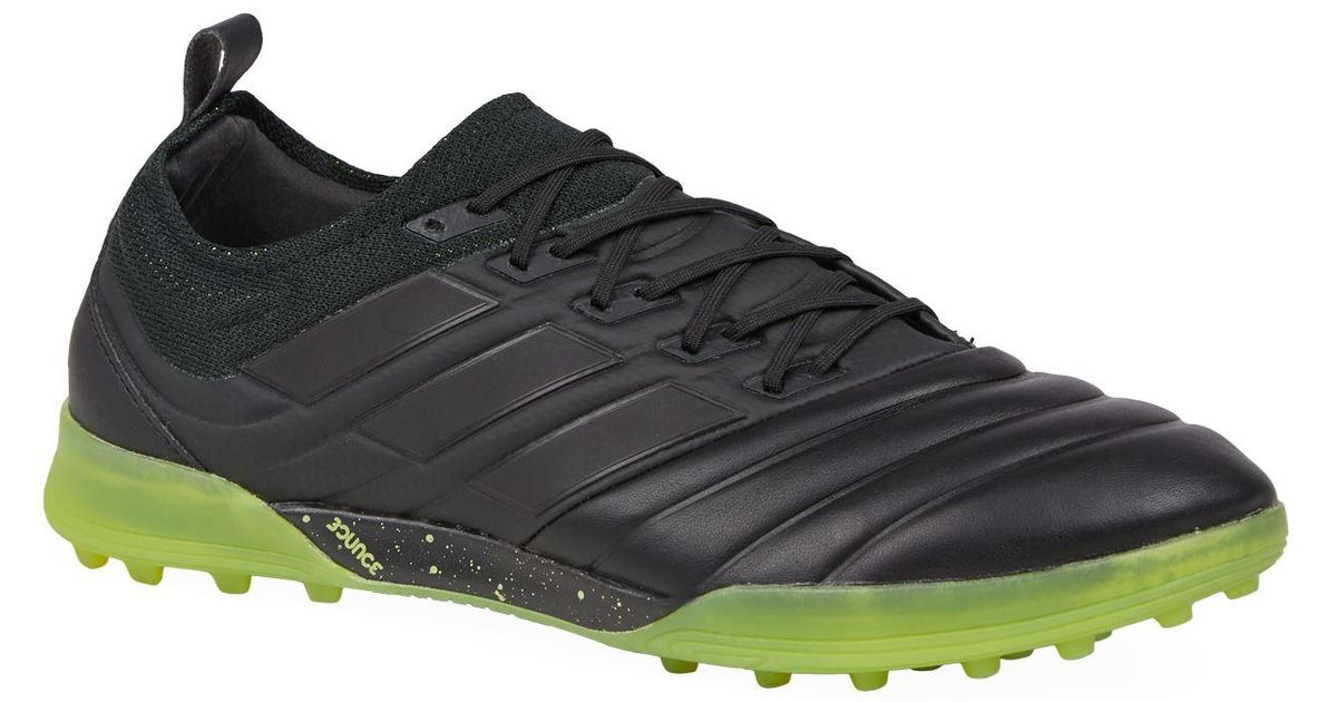 3b2ca9287bf6a Lyst - adidas Copa 19.1 Turf Football Boots in Black for Men