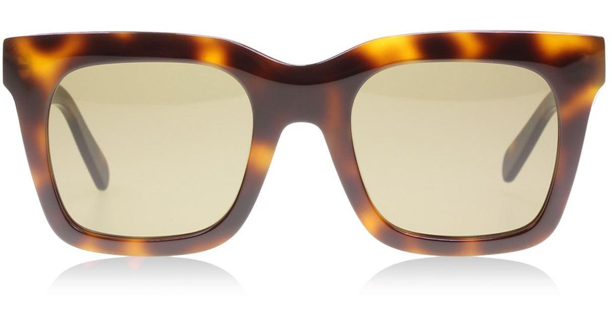 abb80ddbf700 Céline Luca Sunglasses in Brown - Lyst