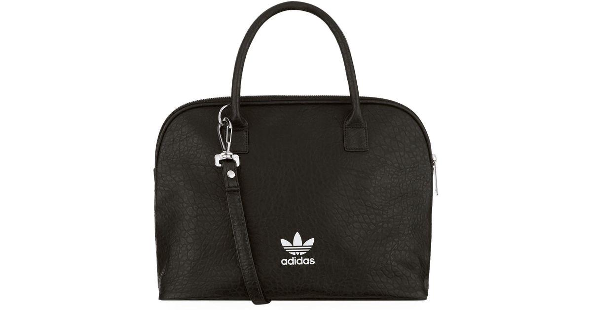 ac77140b6599 Adidas Originals Bowling Bag in Black - Lyst