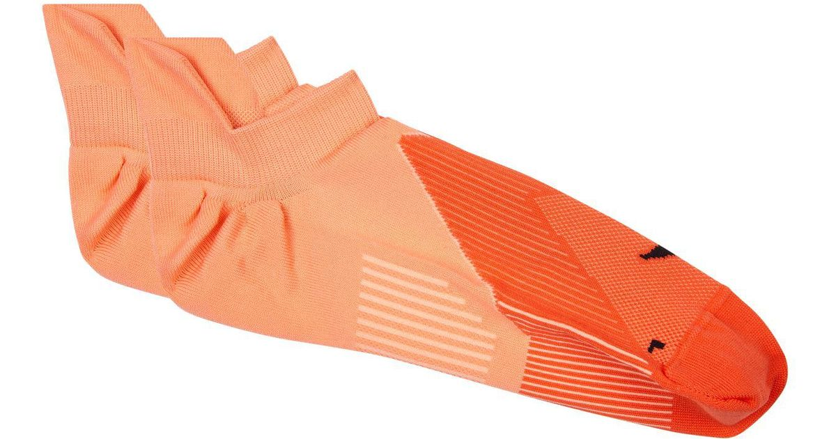 40d50d8626 Nike Elite Lightweight No Show Training Socks in Orange for Men - Lyst