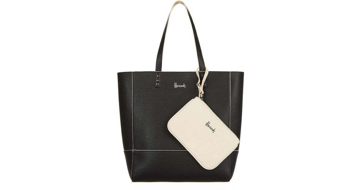 Shop Givenchy bags online Harrods Fern Reversible Tote Bag in Black Lyst  coach ... d1cfafd2cc