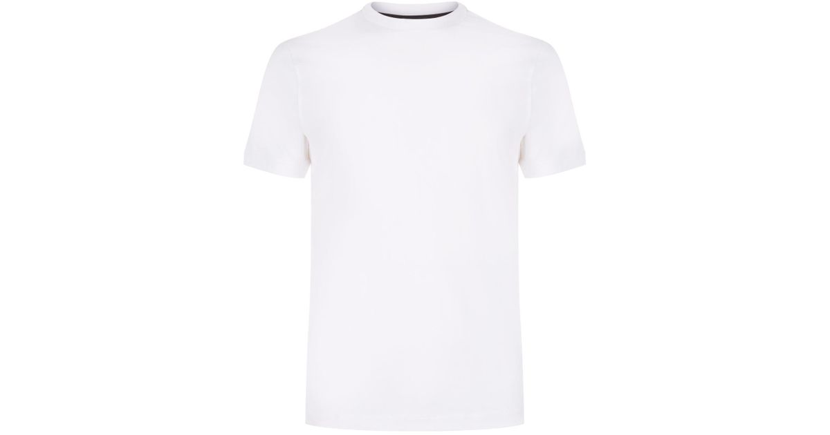Shirt Armani Plain Emporio White T For Men 0nPwkO