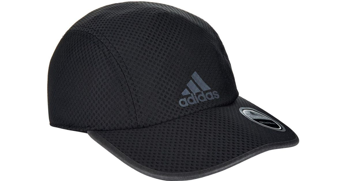 9f8e44c59361 Adidas Climacool Running Cap in Black for Men - Lyst