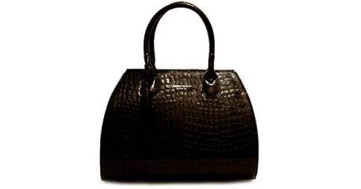 Roberto zeno diaz alligator bag in black lyst