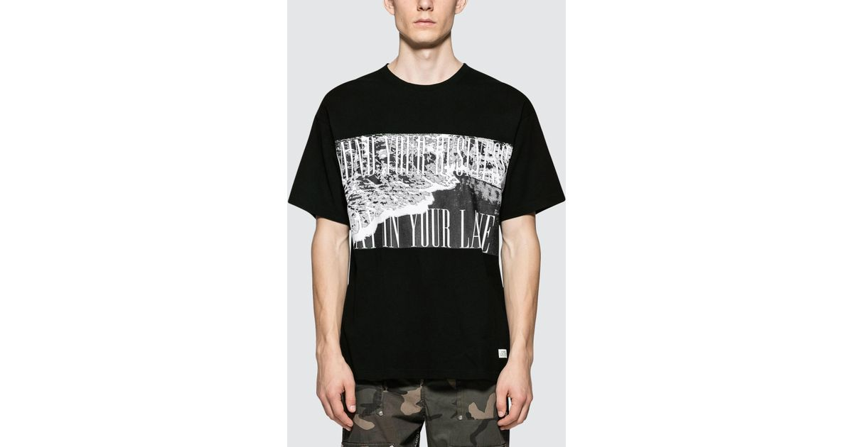 761be717 Stampd Wave S/s T-shirt in Black for Men - Lyst