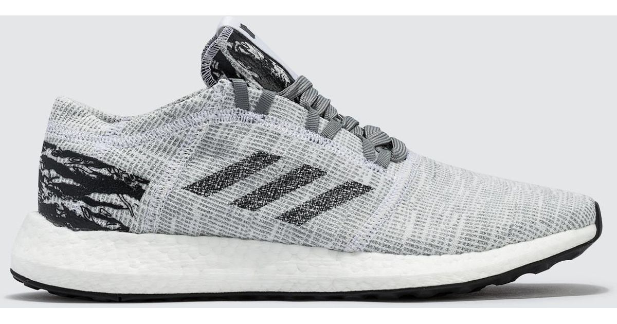e2a64f39220b8 Lyst - adidas Originals Undefeated X Adidas Pureboost Go in Gray for Men