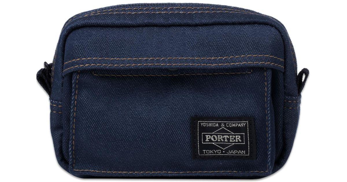 Lyst - Head Porter Indigo Pouch in Blue for Men f8fdafabaf