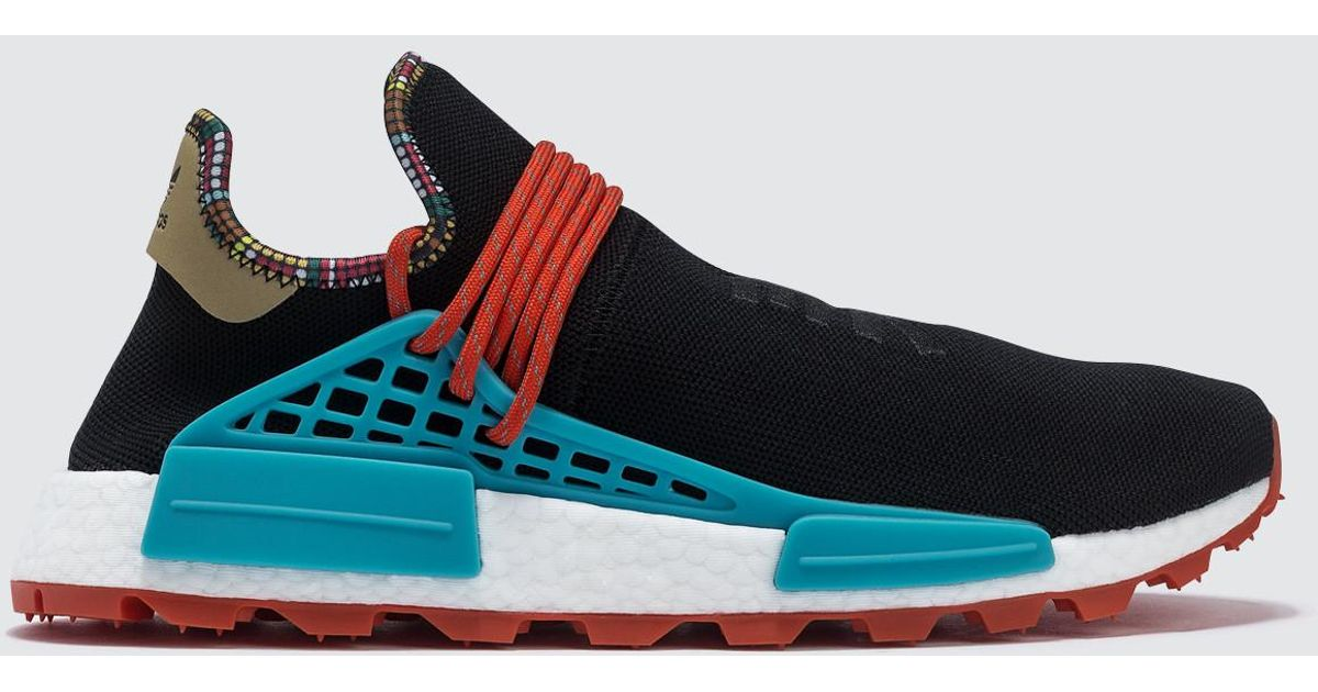 cf07afe5d adidas Originals Pharrell Williams X Adidas Pw Solar Hu Nmd in Black for  Men - Lyst