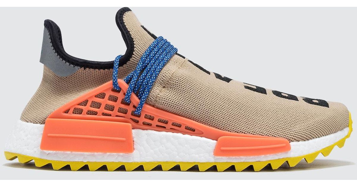 f8fbdcd77 Lyst - adidas Originals Pharrell Williams Hu Hiking Human Race Nmd Tr in  Natural for Men