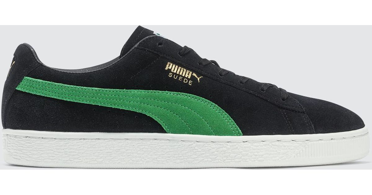 ce95a3a5a35b Lyst - PUMA Xlarge X Suede Classic 50th Anniversary in Black for Men