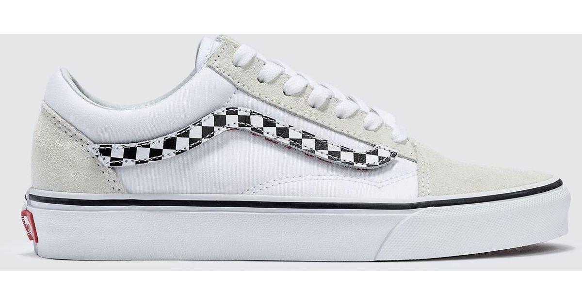 ec481b3fd8 Lyst - Vans Sidestripe V Old Skool in White