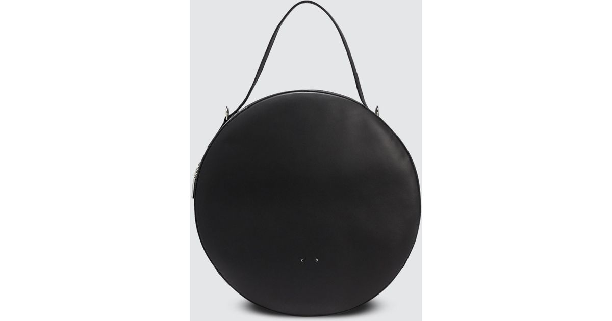 8b664834b354 Lyst - PB 0110 Big Round Bag in Black