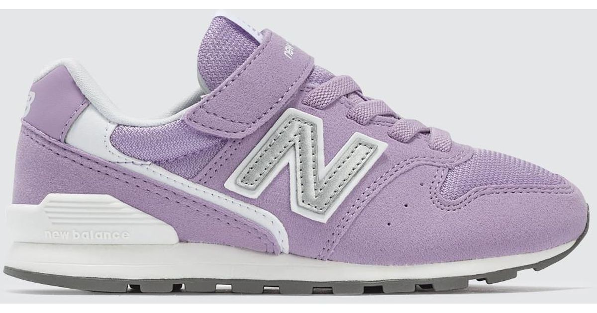 quality design f2dad 09918 New Balance - Purple 996 Pre-school - Lyst