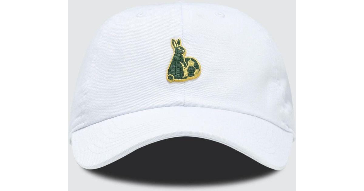 7834b6f5c7fe7  FR2 Fxxking Rabbits Football Dad Cap in White for Men - Lyst