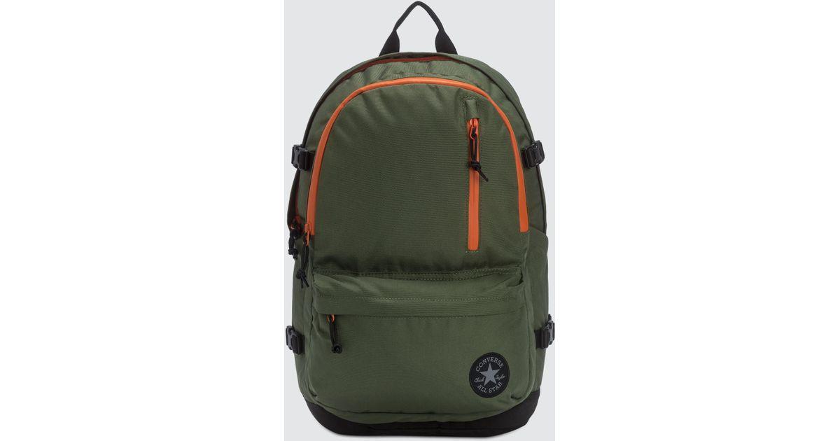 Converse Straight Edge Backpack in Green for Men - Lyst e1fc44e1c443e