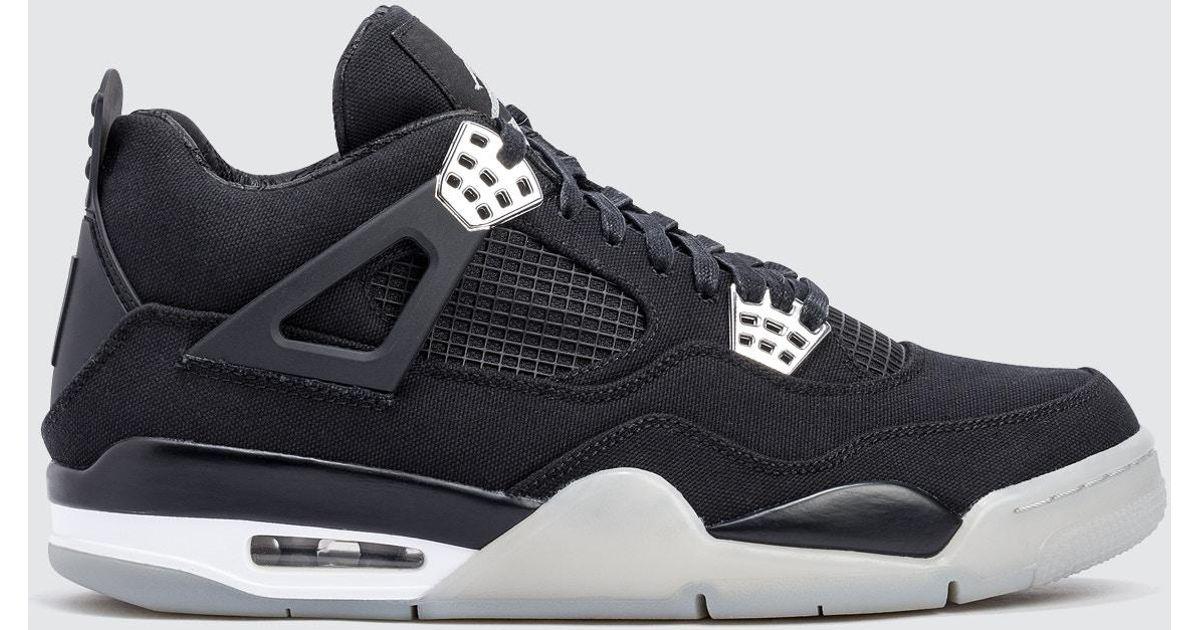 56c23a86c7ebb2 Lyst - Nike Eminem X Carhartt Air Jordan 4 Retro Promo Sample in Black for  Men