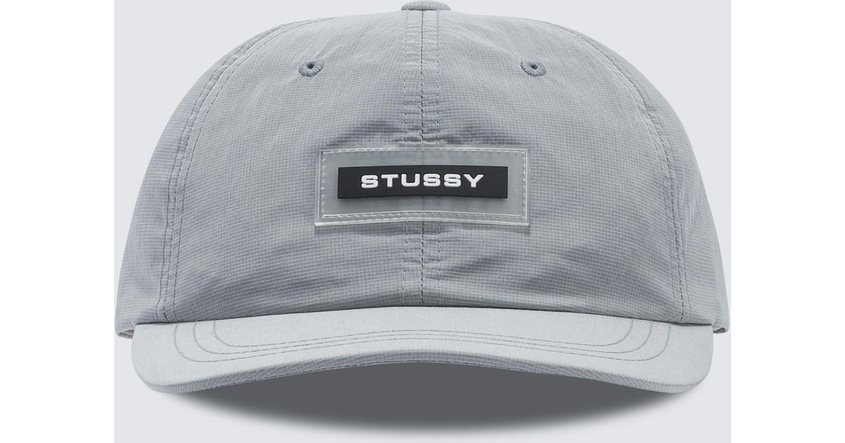 5bb9e536ca3 Lyst - Stussy Np Ripstop Low Pro Cap in Gray for Men