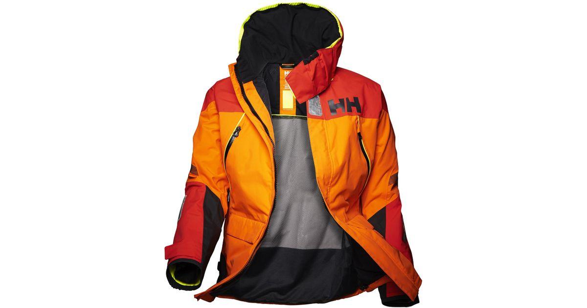 77655fdec9198 Lyst - Helly Hansen Skagen Offshore Jacket in Orange for Men