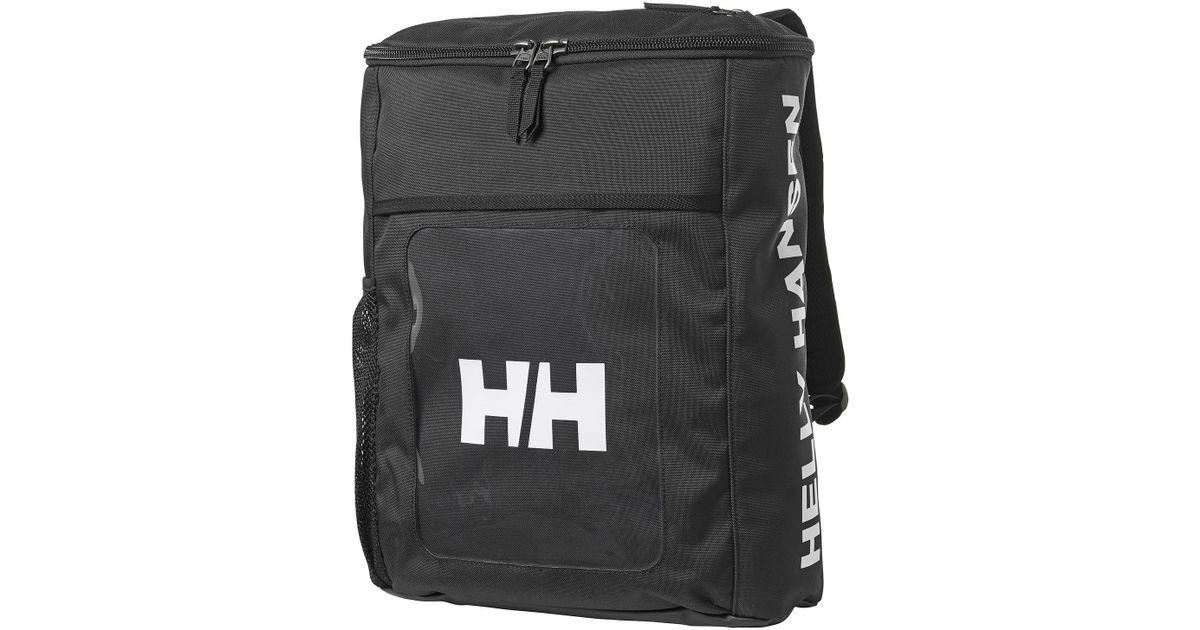 7e23663e5d Helly Hansen Hh Duffel Backpack in Black - Lyst