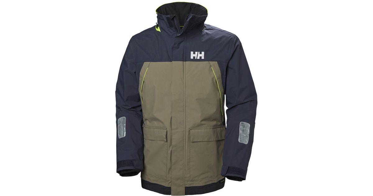 20c252ef858 Helly Hansen Pier Jacket in Blue for Men - Lyst