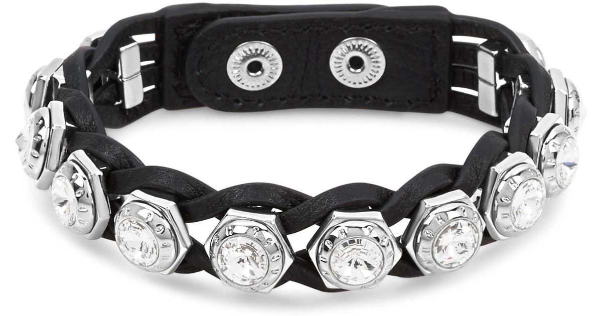 Lyst Henri Bendel Bolt Rivet Wrap Bracelet In Metallic
