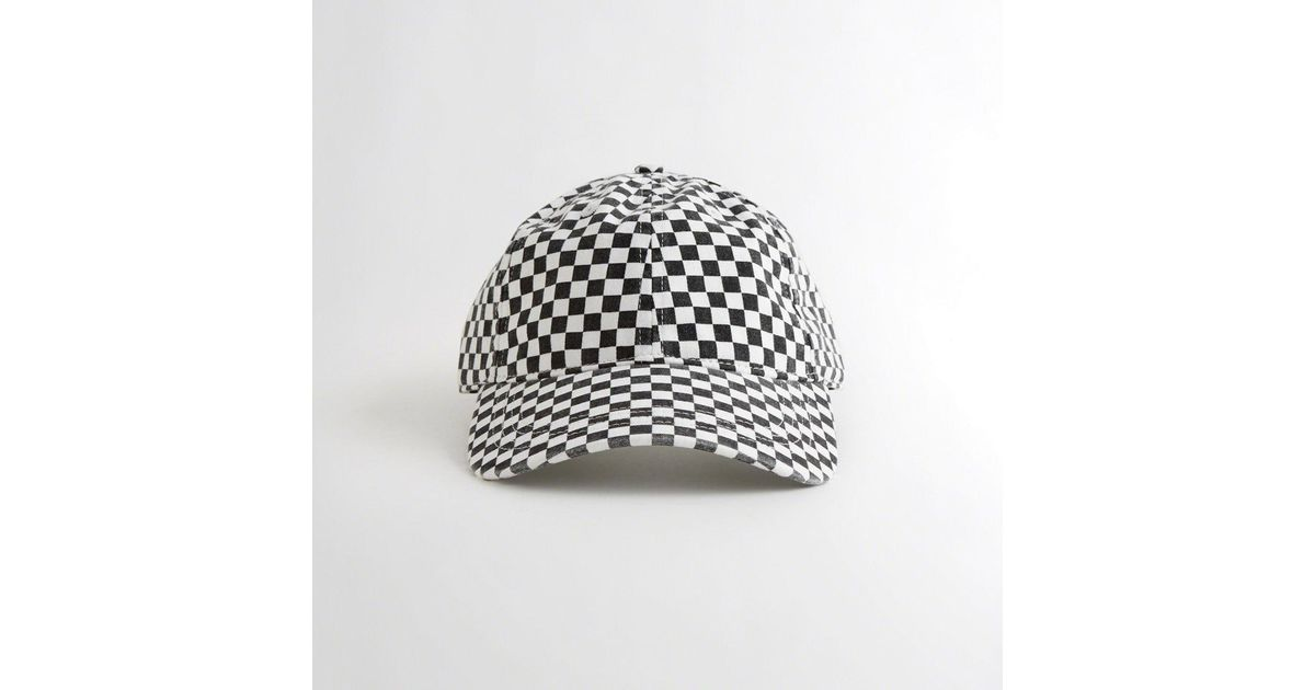 e91719fc937 Lyst - Hollister Checkerboard Dad Hat for Men