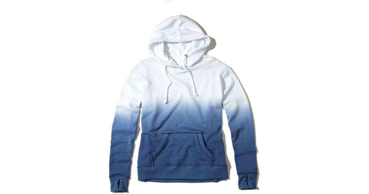 Hollister Sweaters Hollister Hoodies Hollister Shirts Hollister Jacket Hollister Pants Hollister Jeans: Hollister Ombré Hoodie In Blue