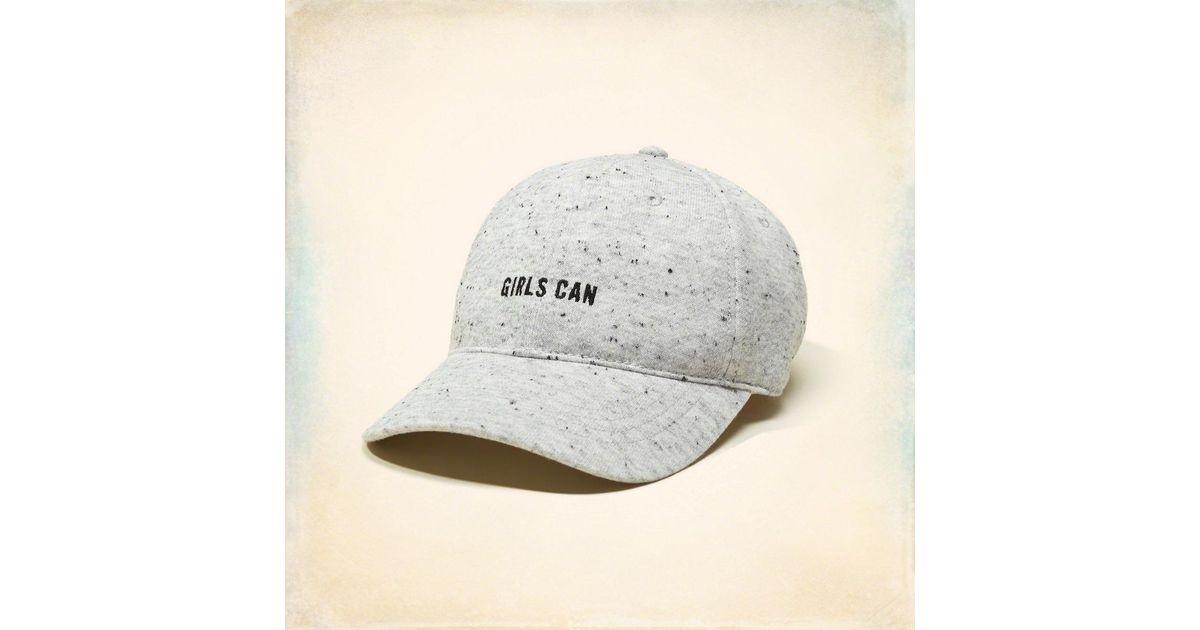 1671943ff26 Lyst - Hollister Embroidered Baseball Hat for Men