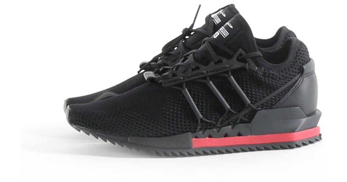 bf3ff59f0b595 Lyst - Y-3 Y-3 Harigane Sneaker In Core Black  Core White  Chili Pepper in  Black for Men