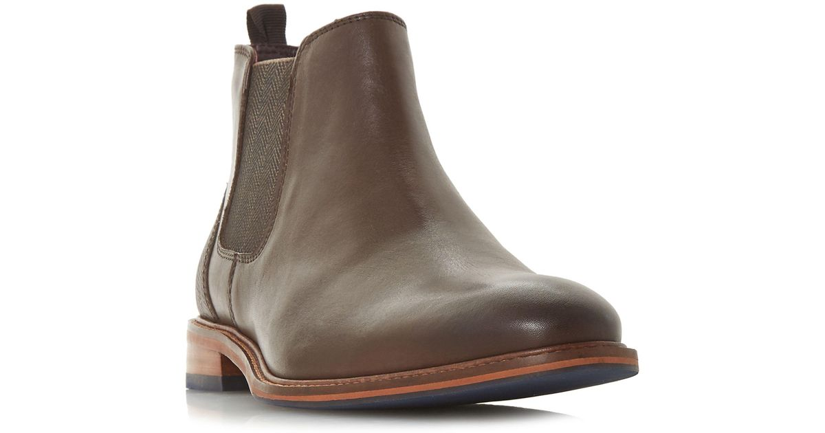 Brown 'Mezut' contrast heel Chelsea boots cheap sale largest supplier buy cheap Manchester sale limited edition visa payment cheap online ydTqz