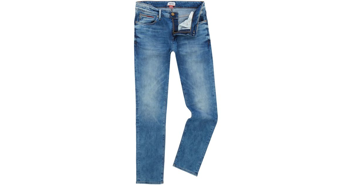 aee3615a8 Lyst - Tommy Hilfiger Slim Scanton Dbc Jeans in Blue for Men