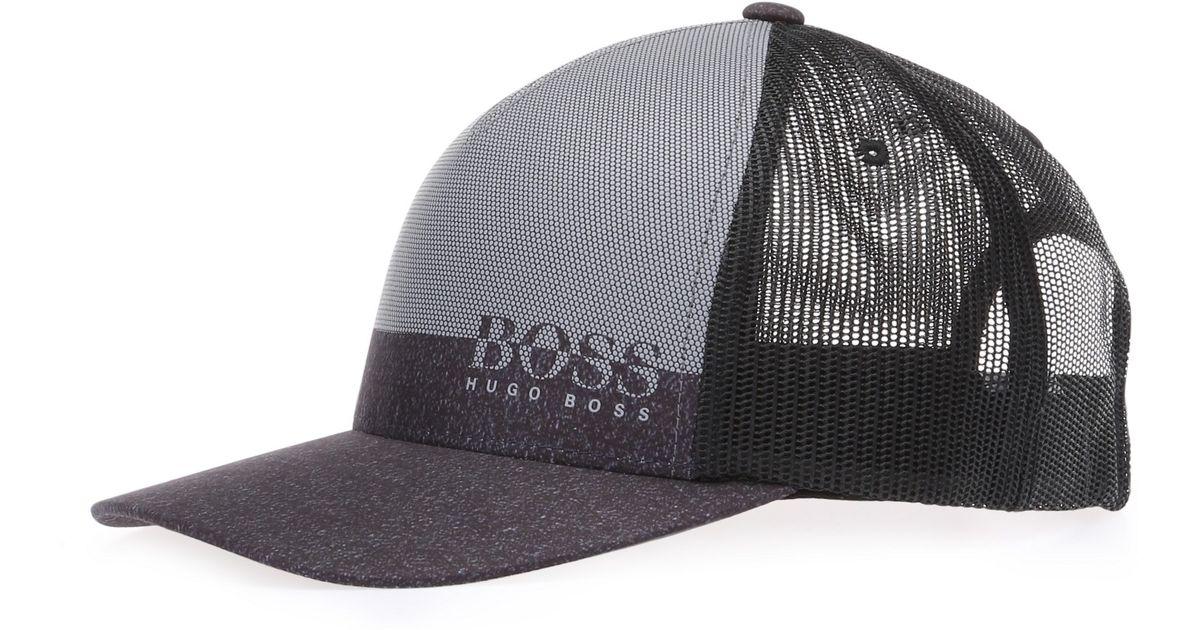 Lyst - BOSS Green  3d Print Cap   5a4d1d45723