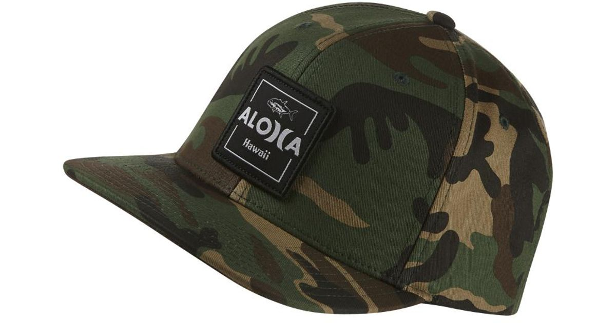 pretty nice 023ad 5029a ... australia lyst hurley aloha cruiser adjustable hat olive in green for  men f30f5 dabd8