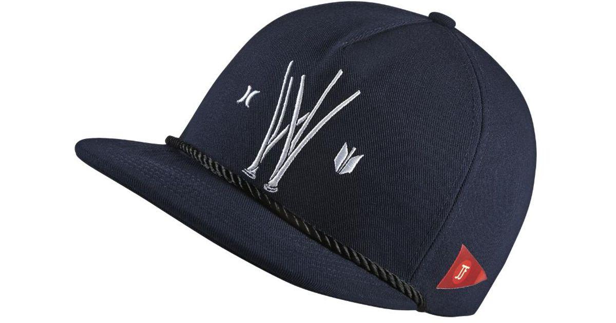 Lyst - Hurley Jjf X Sig Zane Adjustable Hat (blue) - Clearance Sale in Blue  for Men b8daaf3d5ff