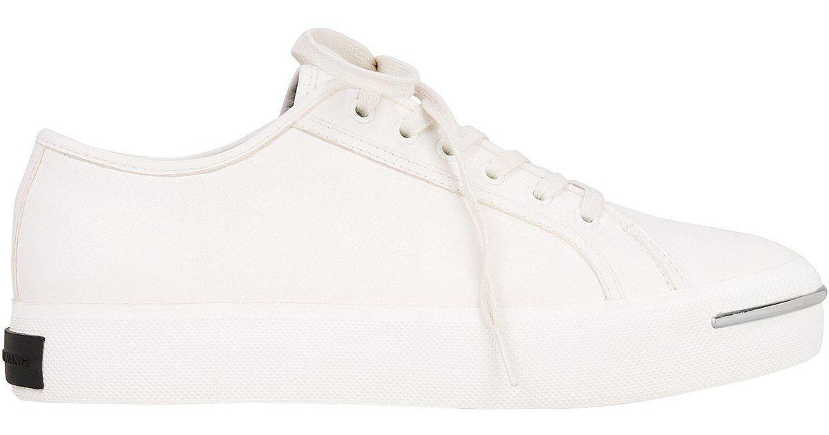 6c91bcf502d8 Lyst - Alexander Wang Nola Sneakers in White