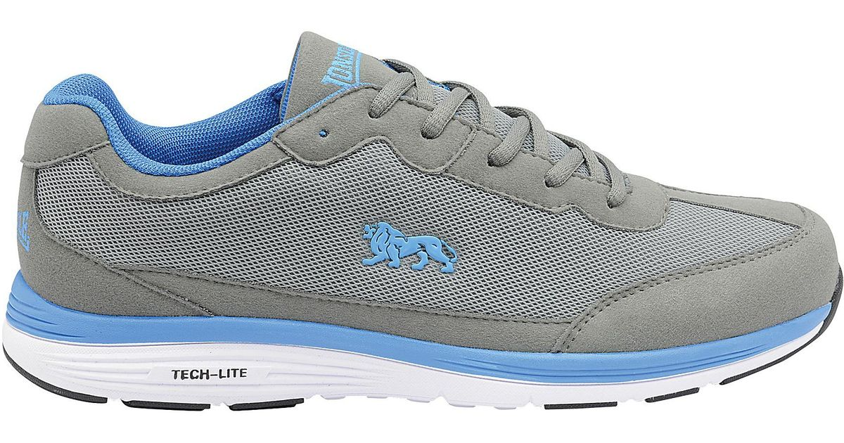 Grey and Blue 'Kamina' mens lace up sports trainers view sale online buy cheap find great 2014 newest free shipping for sale cheap sale sast bNm0eaPgF