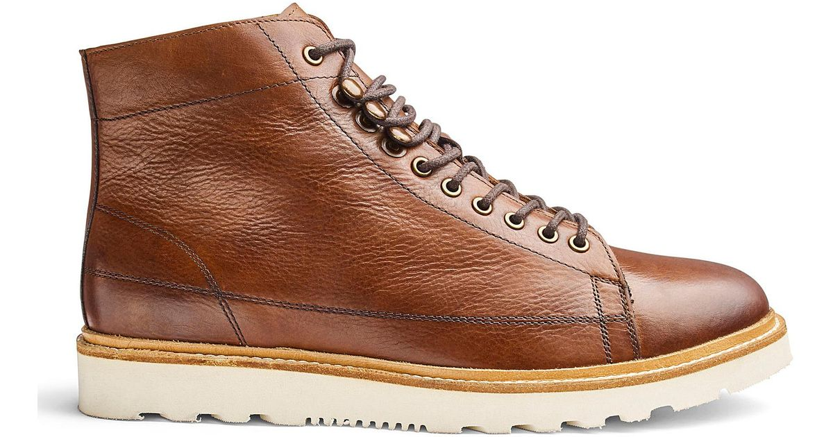 59870b29a Jacamo Real Leather Apron Toe Boots in Brown for Men - Lyst