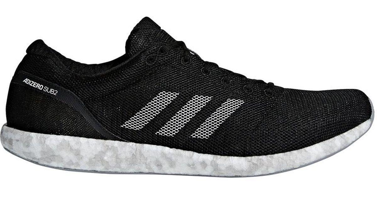 lyst adidas unisex - adizero sub2 schuhe in schwarz für männer