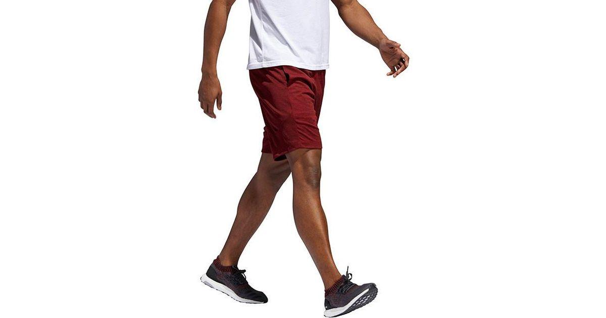 1deaf4d16a Adidas - Red Speedbreaker Hype Speed Collegiate Shorts 9