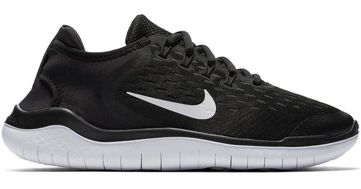 da196fe14fd Lyst - Nike Kids Grade School Free Rn 2018 Shoes in Black for Men