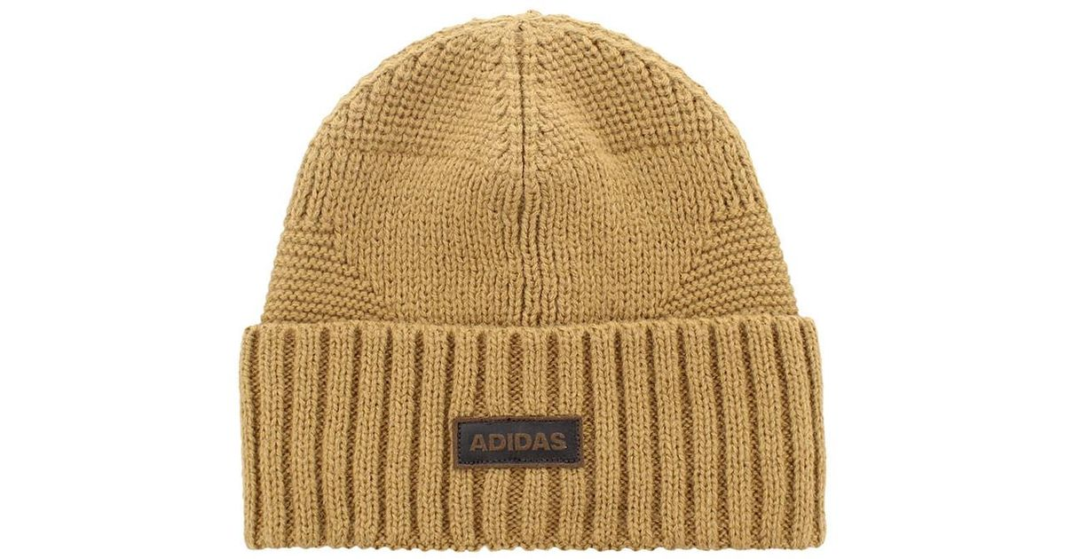 Lyst - adidas Pine Knot Beanie in Brown for Men b22dc525bf3