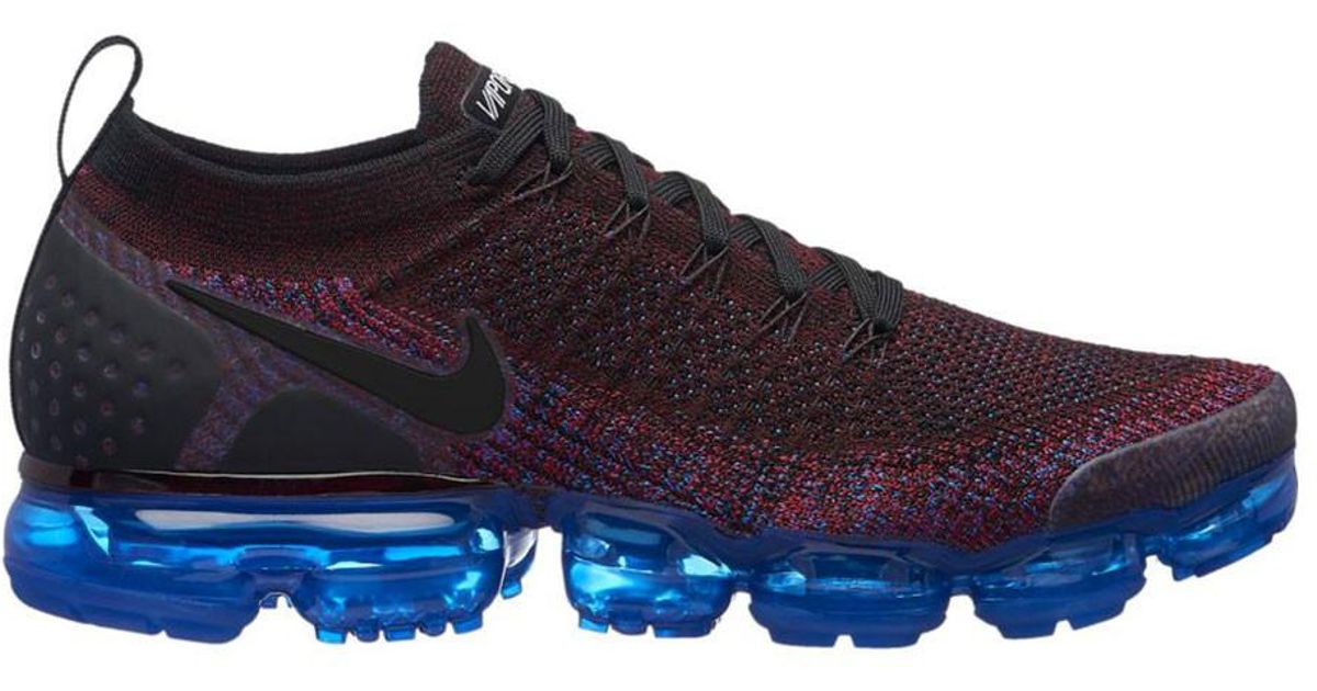 7e3e81a9ee49 france lyst nike air vapormax flyknit 2 running shoe in blue for men 86b53  73eee