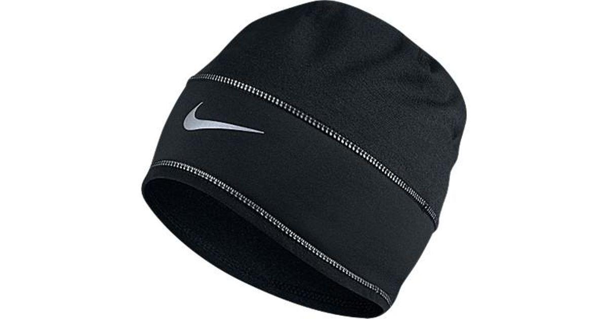 043c7be7bf9bf Lyst - Nike Unisex Run Flash Beanie in Black for Men