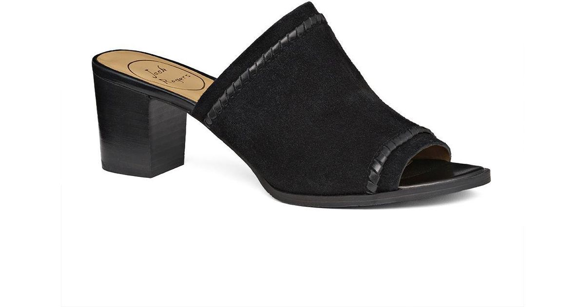 a3b1693dcfe Jack Rogers Campbell Suede Block Heel Mules DeiyDN - mixmobileapps.com