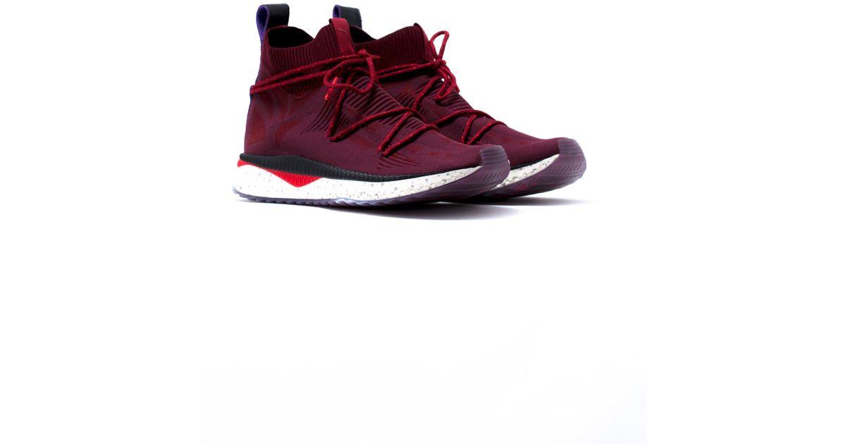 e6b7adbf6feb89 Lyst - Puma Tsugi Evoknit Sock Naturel in Red for Men