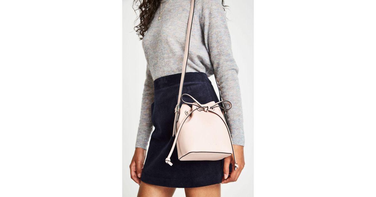 Jack Wills Farringdon Mini Bucket Bag in Pink - Lyst